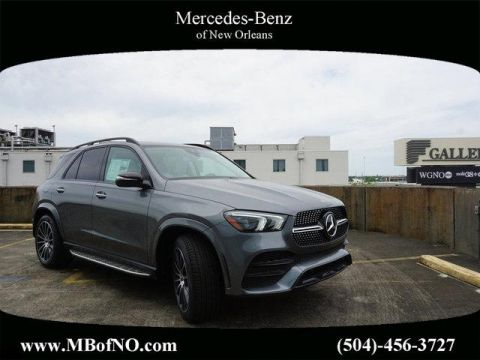 New 2020 Mercedes-Benz GLE GLE 350 With Navigation