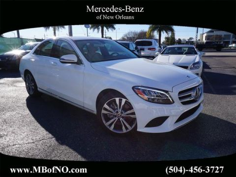 Certified Pre-Owned 2019 Mercedes-Benz C-Class C 300 RWD SEDAN