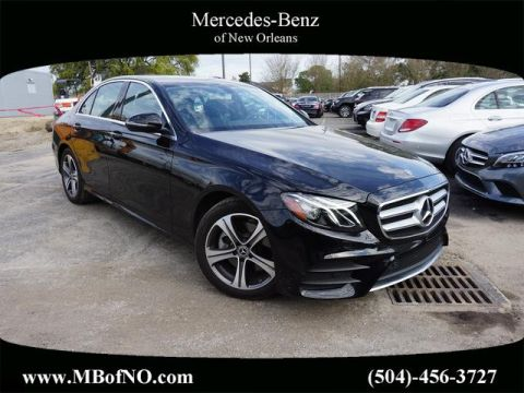 Certified Pre-Owned 2019 Mercedes-Benz E-Class E 300 Sport RWD SEDAN