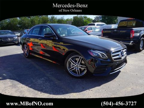 Certified Pre-Owned 2019 Mercedes-Benz E-Class E 300 RWD SEDAN